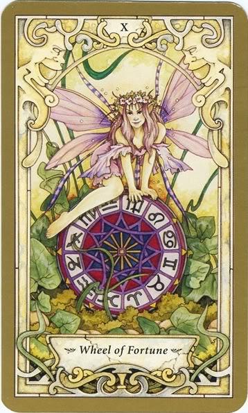 Resultado de imagem para wheel of fortune tarot