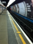 Taking the Tube to Oxford Circus