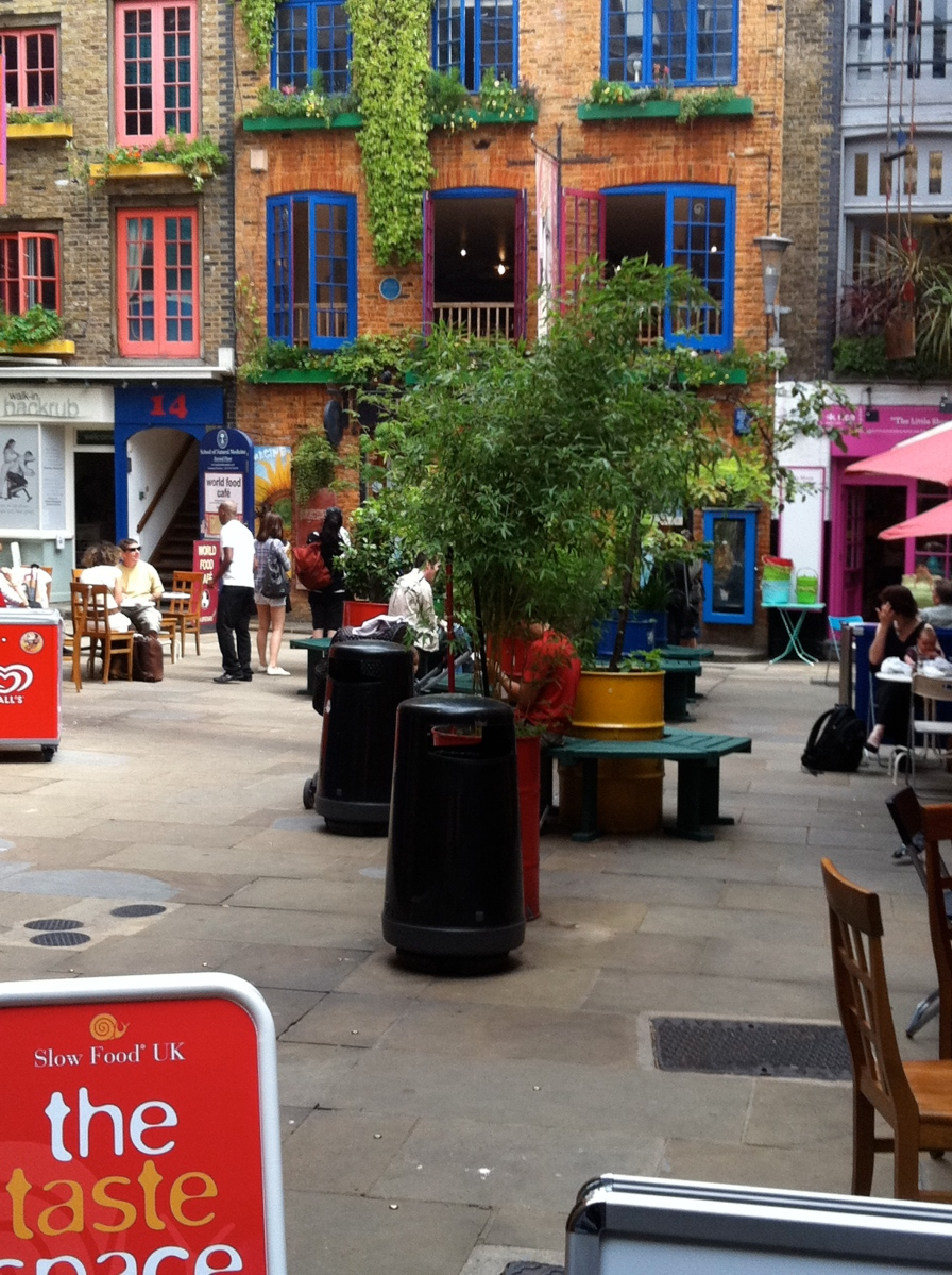 Neals Yard... which I forgot to mention!