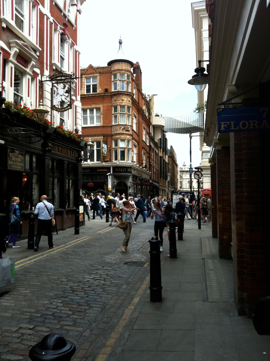 By Covent Garden Station