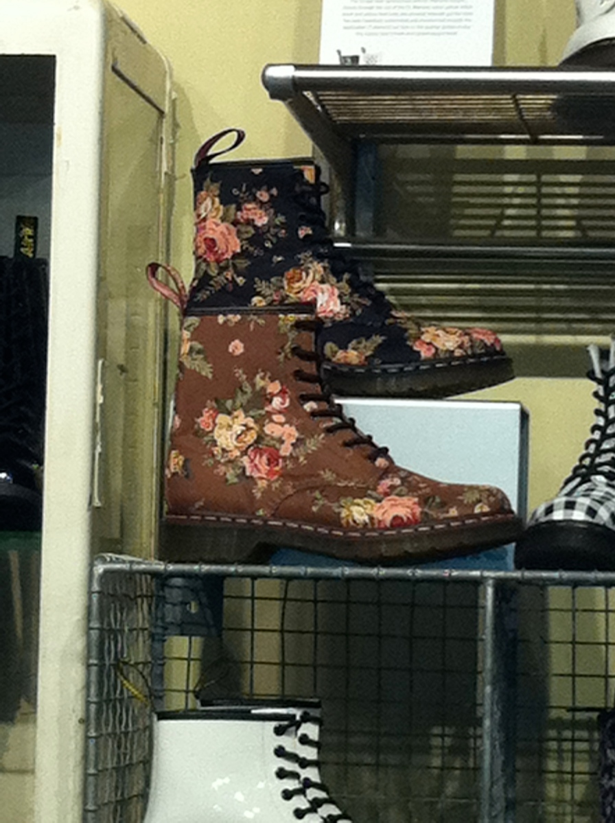 Floral docs that remind me of Suzy my friend.