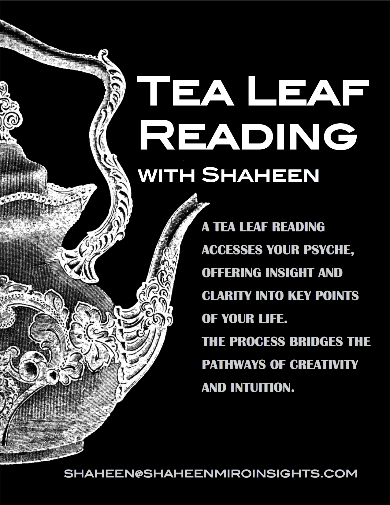 Book A Tea Leaf Reading